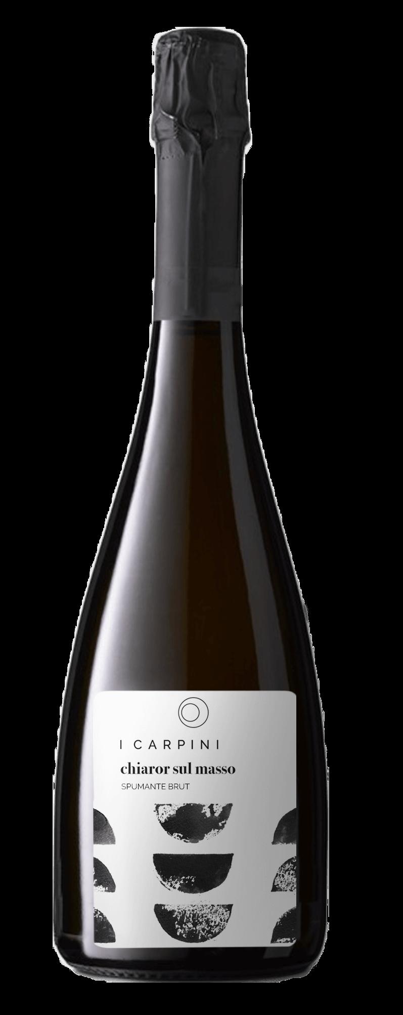 bottiglia spumante chiaror sul masso 1
