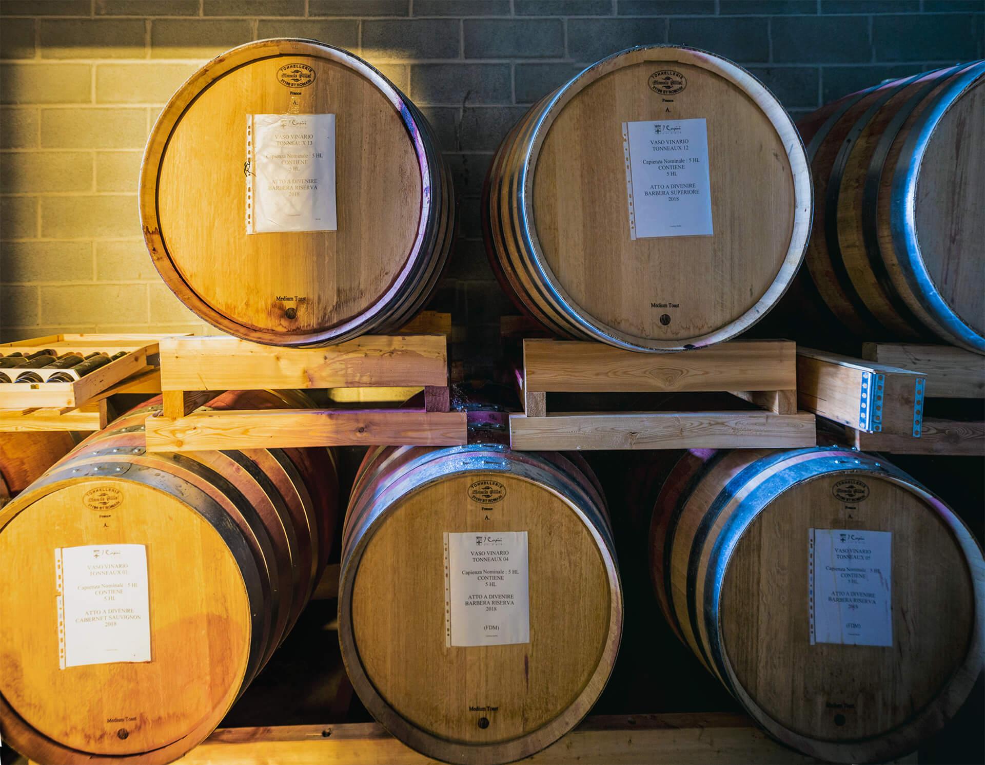 varietà dei nostri vini